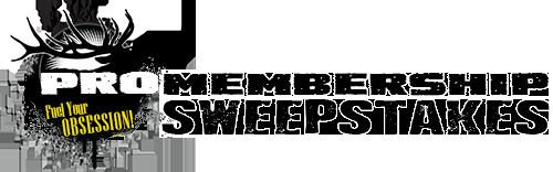 Pro Membership Sweepstakes